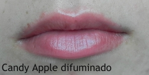 candy apple difuminado