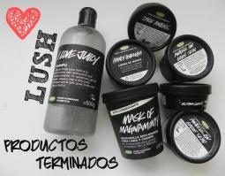 productos terminados de lush