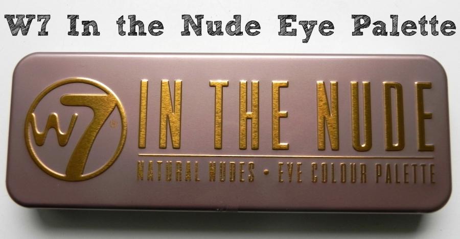 w7 in the nude eye palette