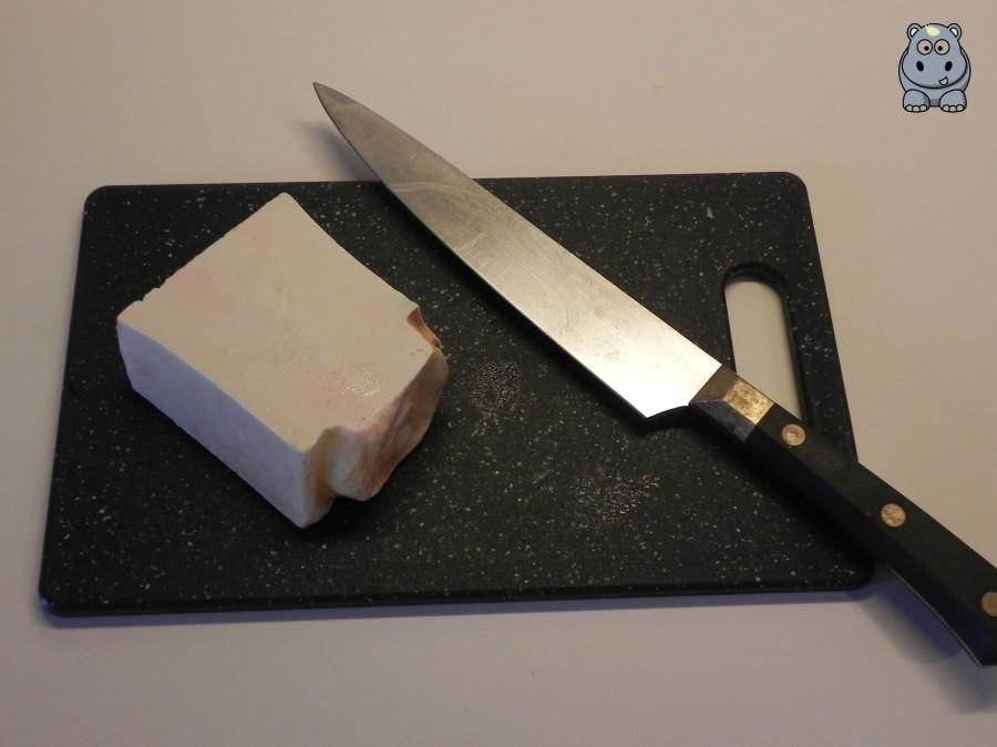 Cut lush soap