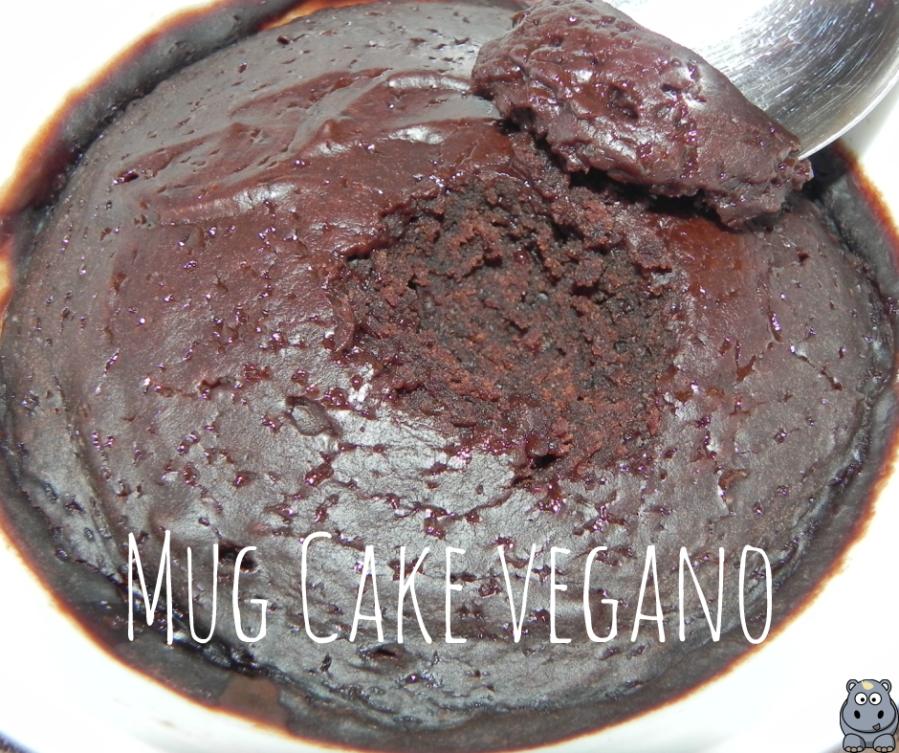 Delicioso, Rápido y Sencillo - Mug Cake Vegano de Chocolate