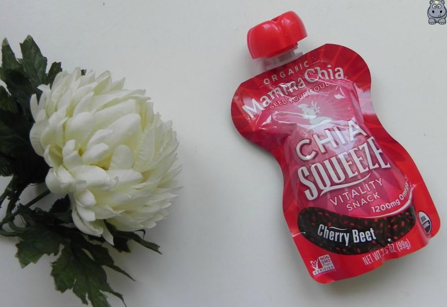 MammaChia ChiaSqueeze Cherry Beet